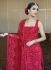 Bollywood Poonam kaurture inspired red churidar