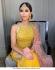 Bollywood Poonams Kaurture inspired Yellow wedding sharara