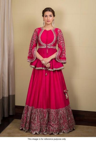 Bollywood Kriti sanon inspired pink sharara
