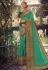 Light green silk party wear saree 6404