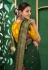 Kajal aggarwal green art silk bollywood saree 5157