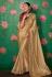 Kajal aggarwal beige art silk party wear saree 5160