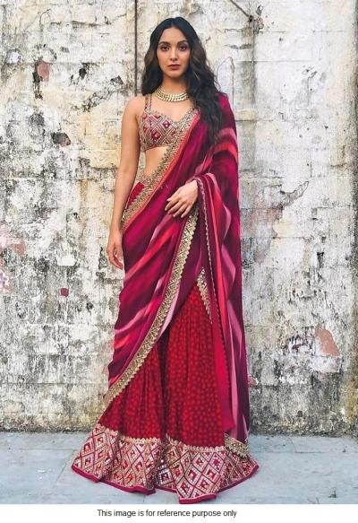 Bollywood Kiara Advani inspired sharara