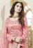 Pink georgette mirror work lehenga choli 432
