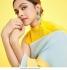 Bollywood Deepika Padukone inspired multi color crushed saree