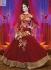 Maroon Wedding Wear Designer Anarkali salwar kameez