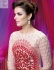 Peach and red Wedding Wear Designer Anarkali salwar kameez