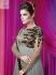 Grey Colour Wedding Wear Designer Anarkali salwar kameez