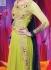 Lime Green Wedding Wear Designer Anarkali salwar kameez