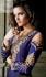 Purple Designer Wedding Wear Anarkali kameez
