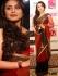 Rani Mukerjee red and black saree