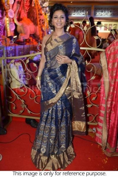 Bollywood Tanisha Blue saree
