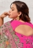 Light green net festival wear saree 5706