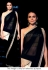 Gul Panag Black and gold saree