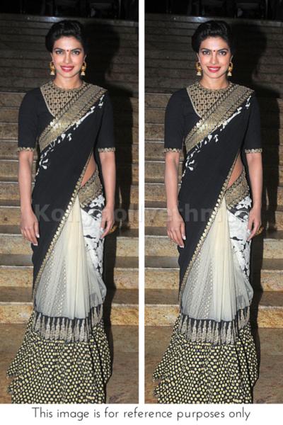Priyanka chopra designer saree