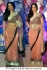 Tabu peach  colour saree