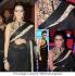 Neha sharma Black designer saree