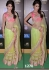 Shriya Saran pastel green Saree