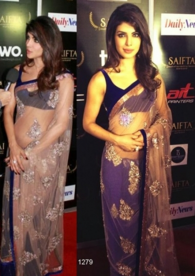 Priyanka Chopra saifa award saree