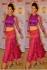 Kajal Agarwal Purple and orange lehenga