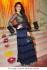 Jacqueline Fernandez dark blue anarkali