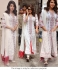 Priyanka chopra white and red designer churidar