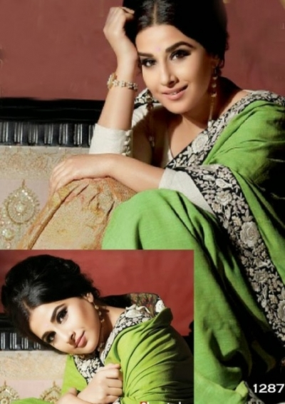 Bollywood - Vidya Balan Flim fare saree