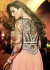 Peach and black Party Wear anarkali
