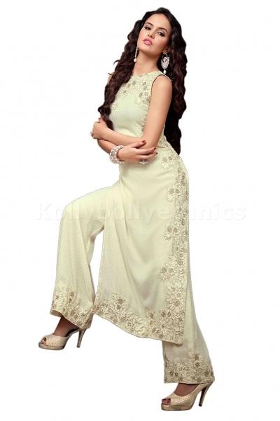 Cream designer Wedding wear Designer Anarkali