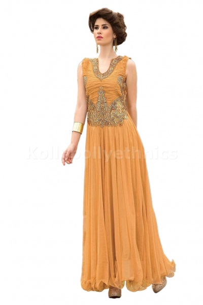 Cream colour Designer Gown
