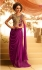 Magenta Chiffon Gown