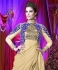 Off white  and blue Wedding Wear Designer Anarkali salwar kameez