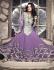 Hit Colour Plus Purple Floor Length Anarkali Suit
