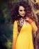 Designer Yellow Anarkali Suit With Jacket