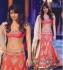 Priyanka chopra peach lehenga