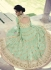 Heavy Mint Green Floor Length Anarkali Suit