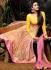 Asin Thottumkal Yellow Georgette Anarkali Suits