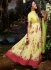 Asin Thottumkal Yellow Georgette Anarkali Suit