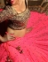 Pink Georgette Lehenga with Embroidered Border