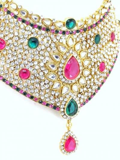 Polki Bridal Necklace Sets 68089