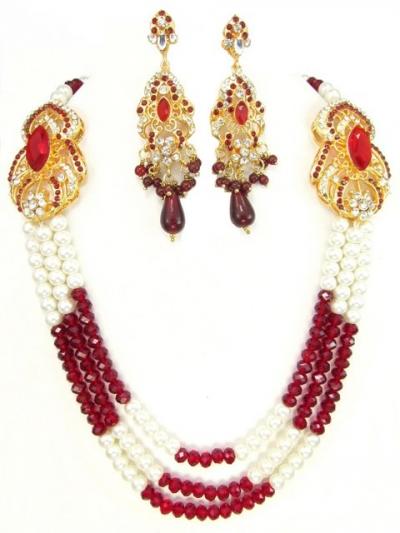 Exclusive Costume Rajwadi Jewellery Set 71598