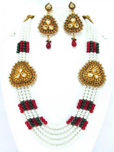 Costume Rajwadi Jewellery Set 58403