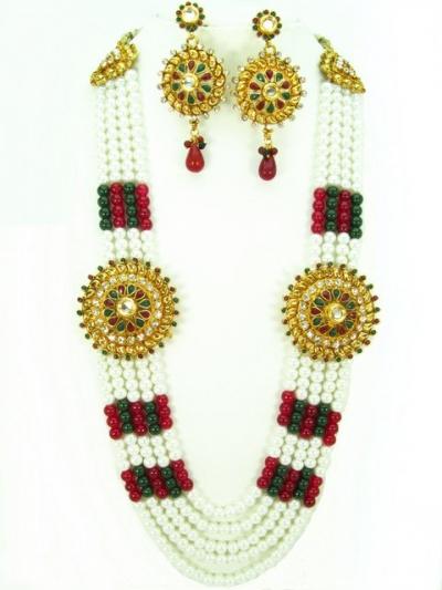 Costume Rajwadi Jewellery Set 577819