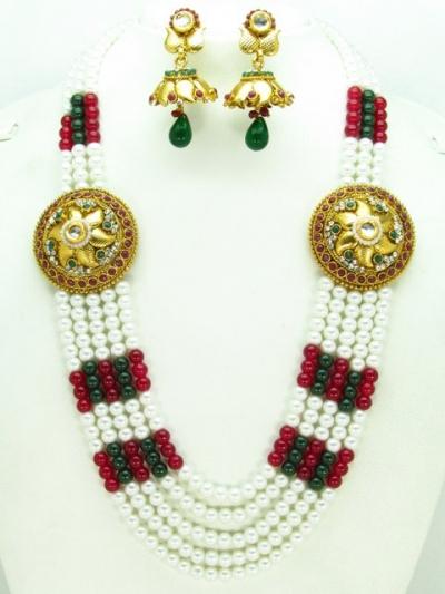 Costume Rajwadi Jewellery Set 57427