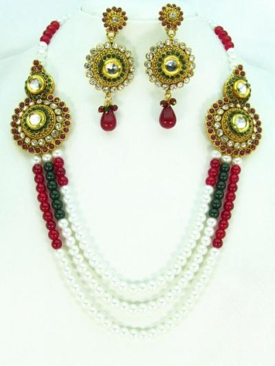 Costume Rajwadi Jewellery Set 57797