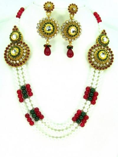 Costume Rajwadi Jewellery Set 57795