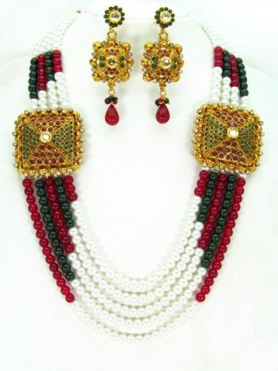 Costume Rajwadi Jewellery Set 57785