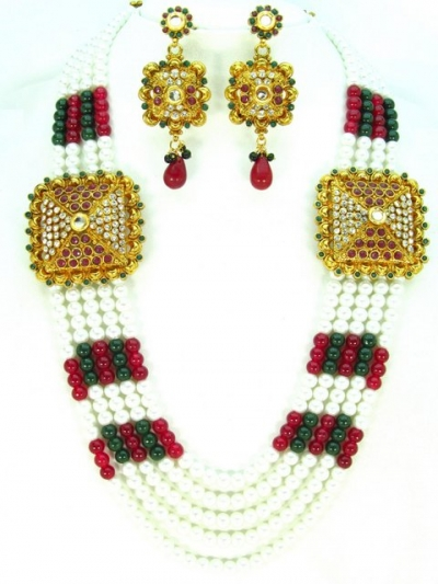 Costume Rajwadi Jewellery Set 57782
