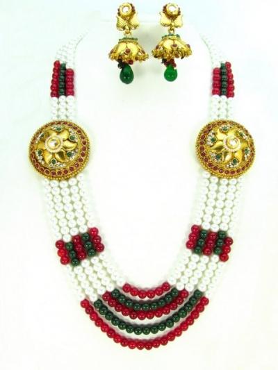 Costume Rajwadi Jewellery Set 57825