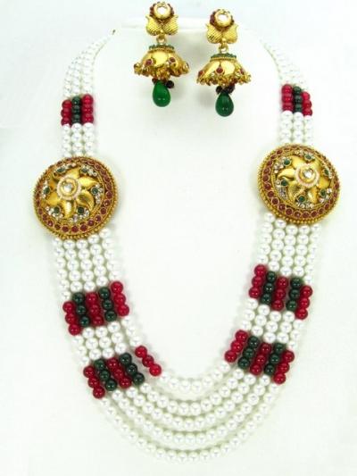 Costume Rajwadi Jewellery Set 57827